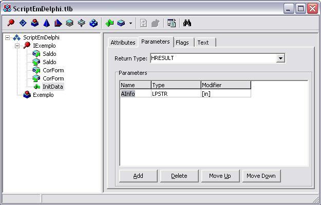 Type Library Exemplo